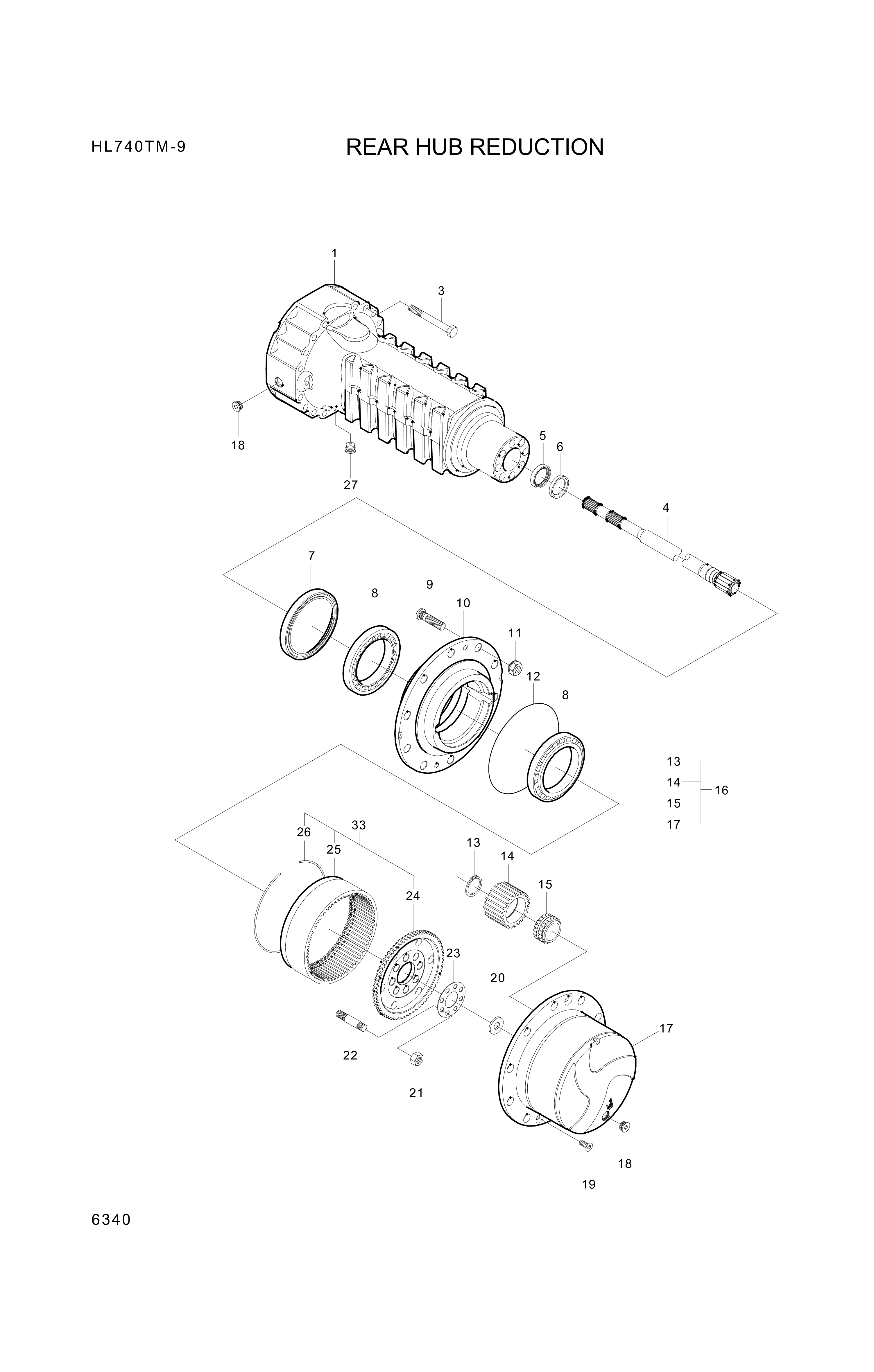drawing for Hyundai Construction Equipment 3551461001 - PLUG