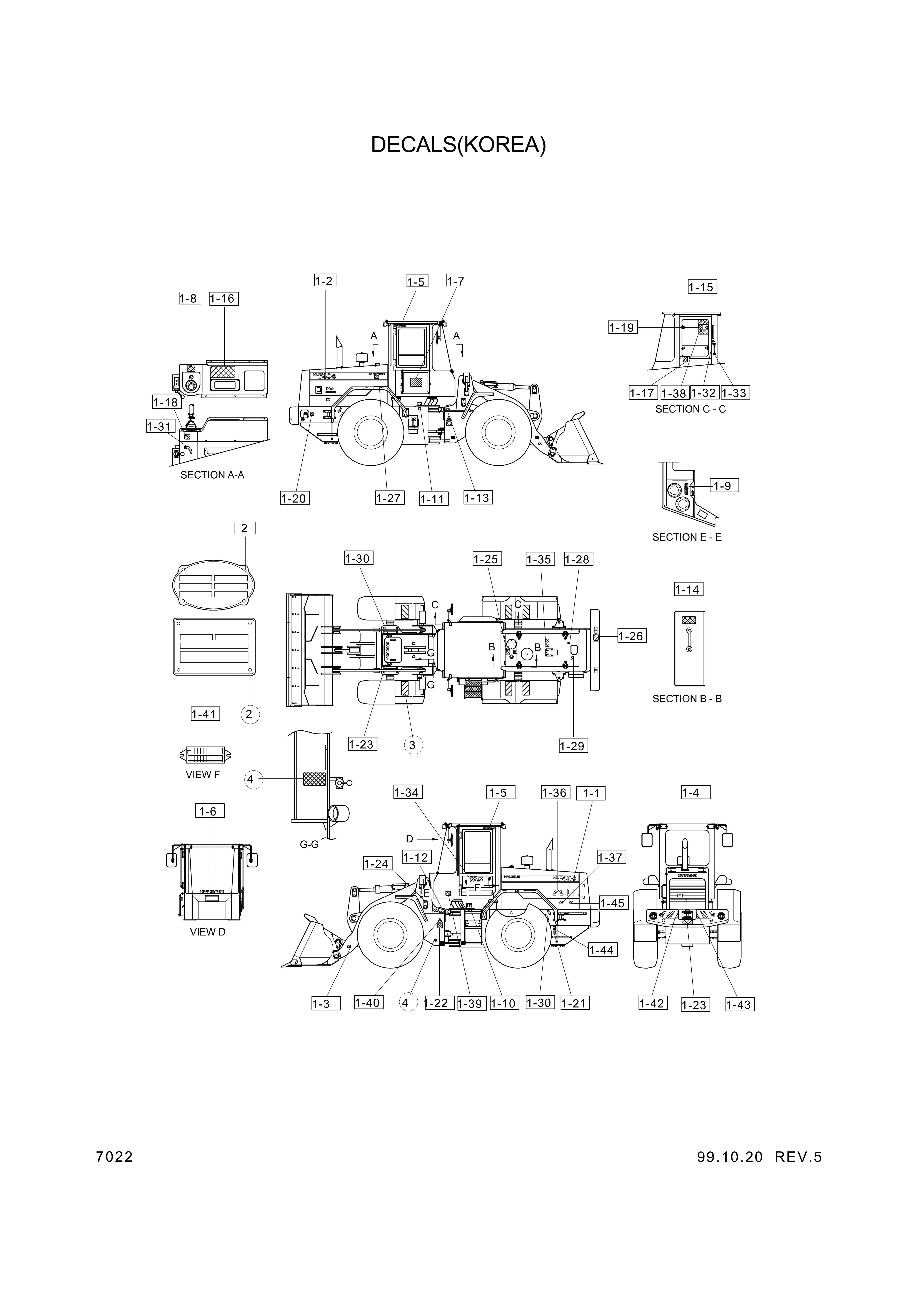 drawing for Hyundai Construction Equipment 94L1-00660 - DECAL-SHUTOFF VALVE