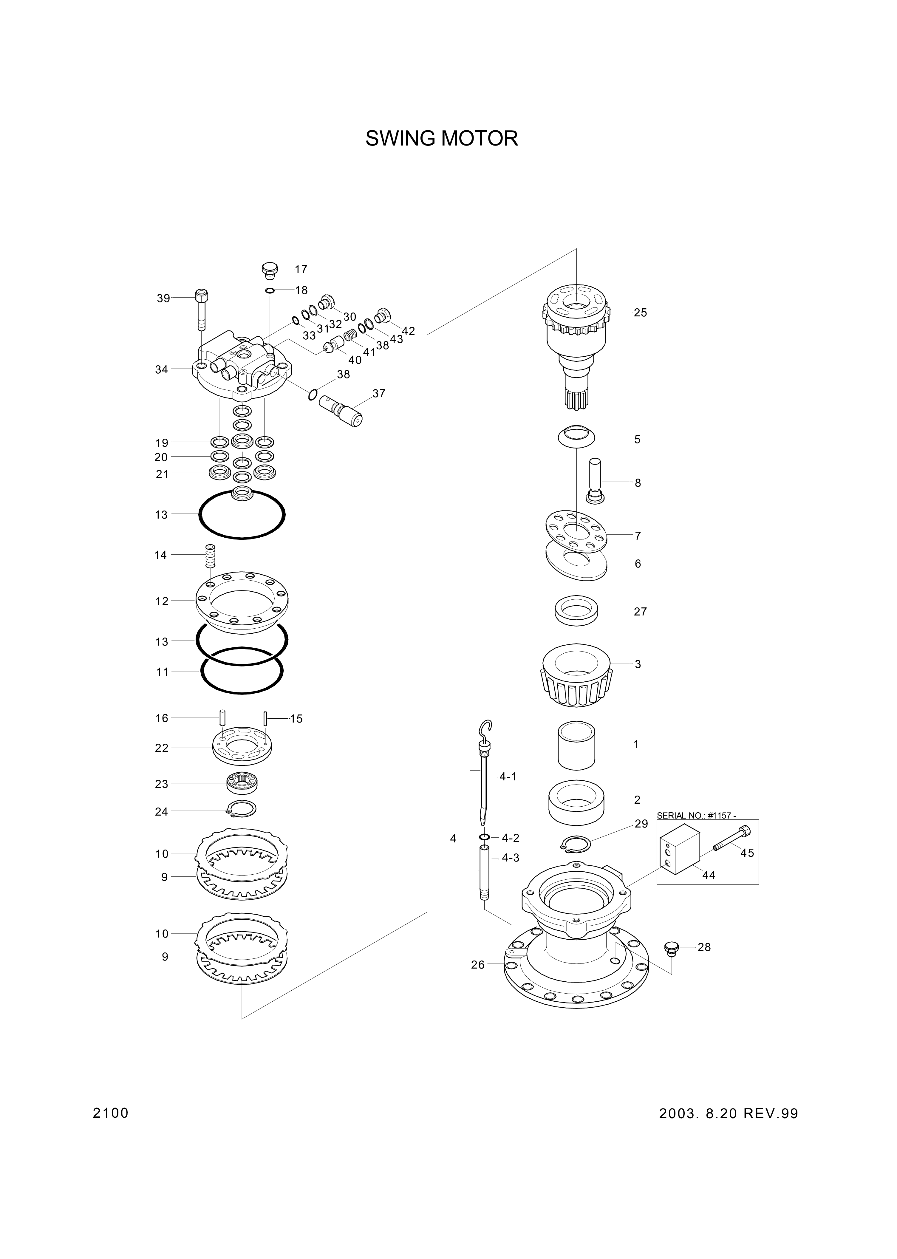 drawing for Hyundai Construction Equipment 3537-293 - RELIEF VALVE ASSY