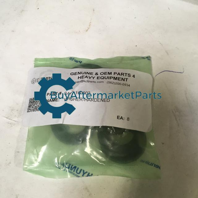 Hyundai Construction Equipment S441-180002 - WASHER-HARDEN