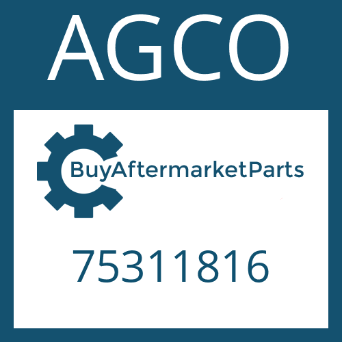 AGCO 75311816 - FRICTION PLATE
