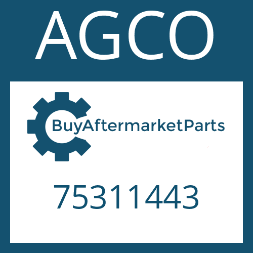AGCO 75311443 - FRICTION PLATE
