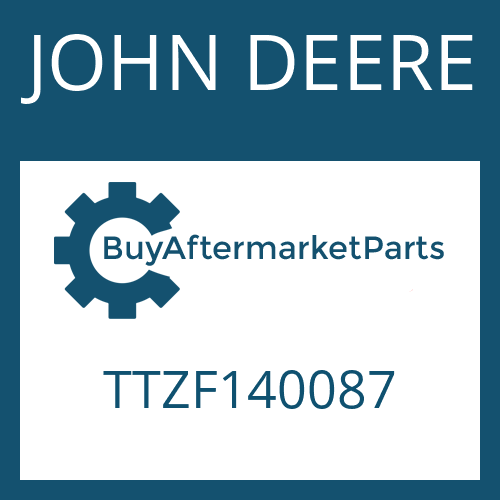 JOHN DEERE TTZF140087 - LIPPED SEAL RING