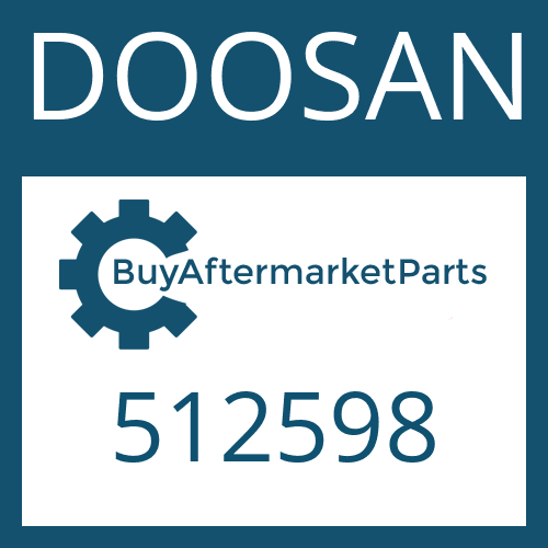 DOOSAN 512598 - BACK RING