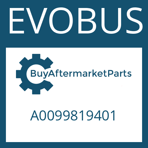 EVOBUS A0099819401 - TAPERED ROLLER BEARING
