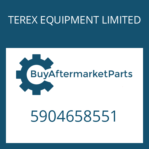 TEREX EQUIPMENT LIMITED 5904658551 - WASHER