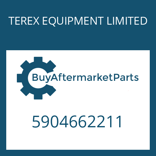 TEREX EQUIPMENT LIMITED 5904662211 -