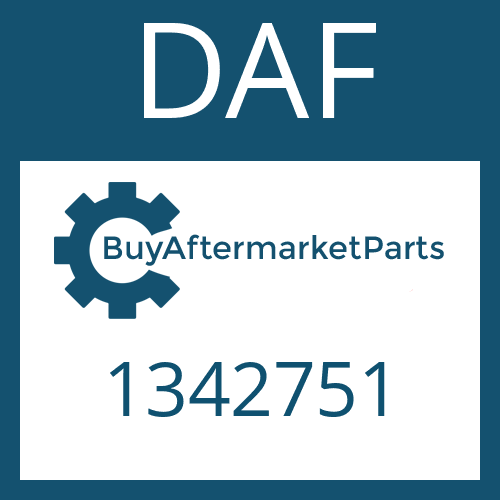 DAF 1342751 - LIPPED SEAL RING