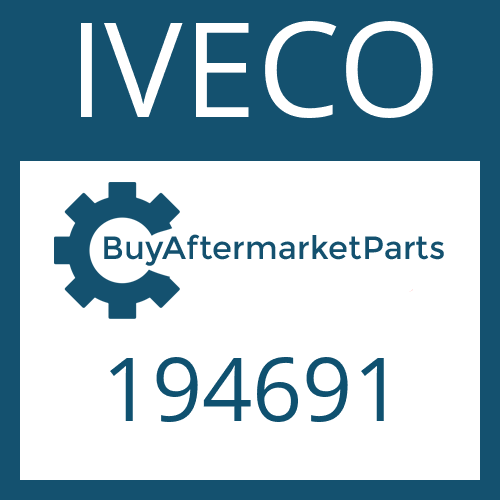 IVECO 194691 - SHAFT SEAL