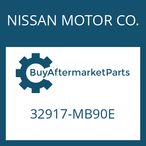 NISSAN MOTOR CO. 32917-MB90E - SLOTTED PIN