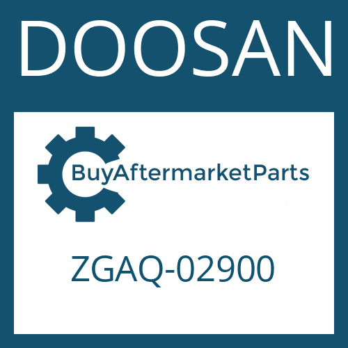 DOOSAN ZGAQ-02900 - JOINT HOUSING