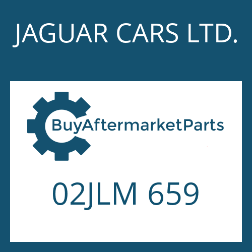 JAGUAR CARS LTD. 02JLM 659 - HEXAGON SCREW