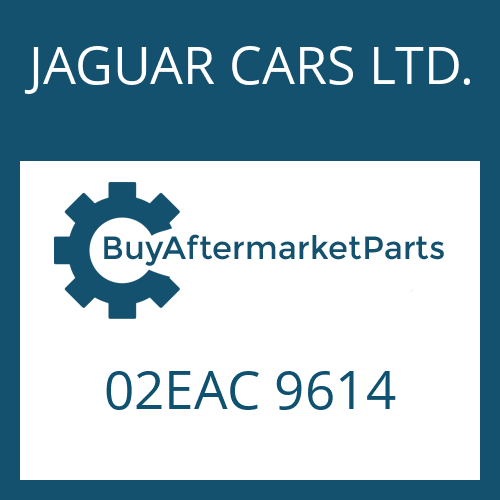 JAGUAR CARS LTD. 02EAC 9614 - 4 HP 22