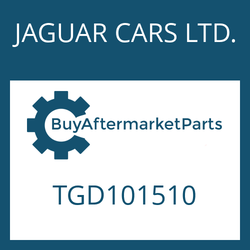 JAGUAR CARS LTD. TGD101510 - 4 HP 22 EH