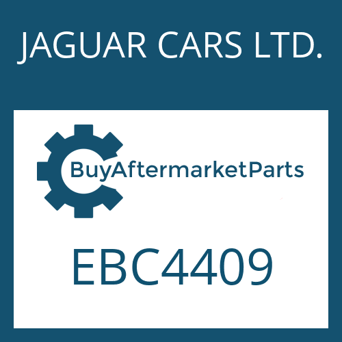 JAGUAR CARS LTD. EBC4409 - 4 HP 24