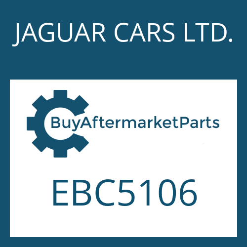 JAGUAR CARS LTD. EBC5106 - 4 HP 24