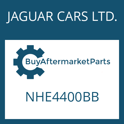 JAGUAR CARS LTD. NHE4400BB - 4 HP 24
