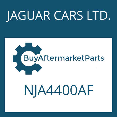 JAGUAR CARS LTD. NJA4400AF - 5 HP 24