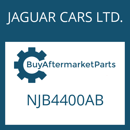 JAGUAR CARS LTD. NJB4400AB - 5 HP 24