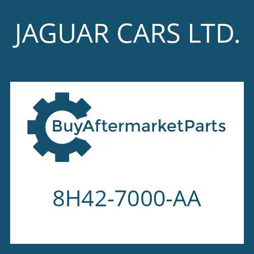 JAGUAR CARS LTD. 8H42-7000-AA - 6 HP 26 X SW
