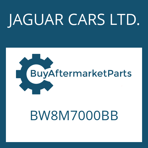JAGUAR CARS LTD. BW8M7000BB - 6 HP 28 SW
