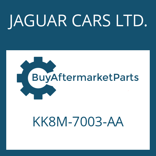 JAGUAR CARS LTD. KK8M-7003-AA - 8HP70X HIS