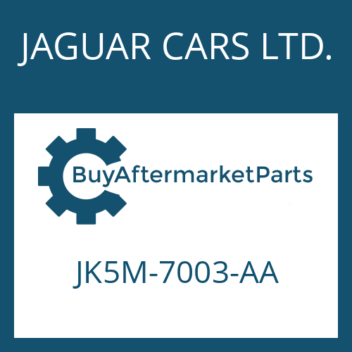 JAGUAR CARS LTD. JK5M-7003-AA - 8HP70X HIS