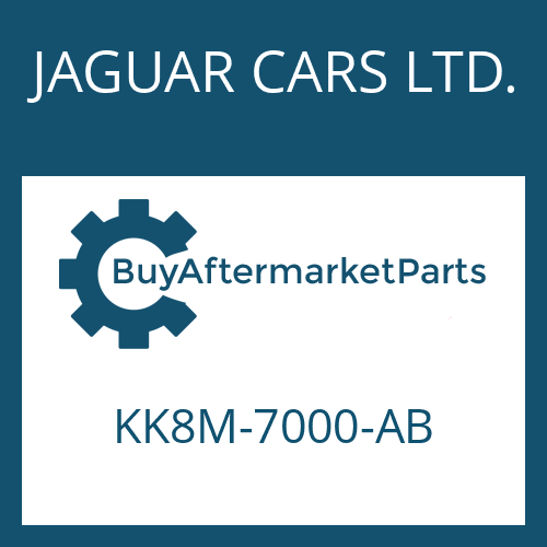 JAGUAR CARS LTD. KK8M-7000-AB - 8HP70X HIS SW