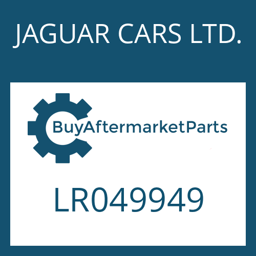 JAGUAR CARS LTD. LR049949 - PRESSURE SENSOR