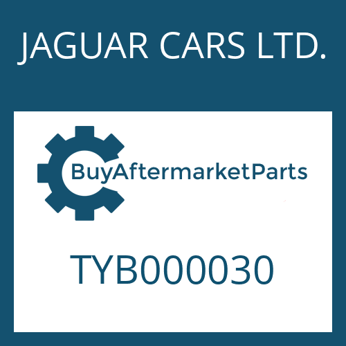 JAGUAR CARS LTD. TYB000030 - SCREW PLUG