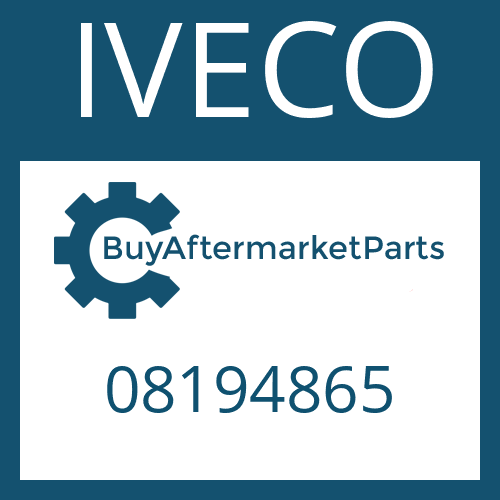 IVECO 08194865 - HEXAGON NUT