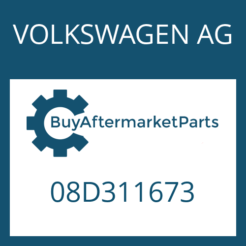 VOLKSWAGEN AG 08D311673 - WASHER