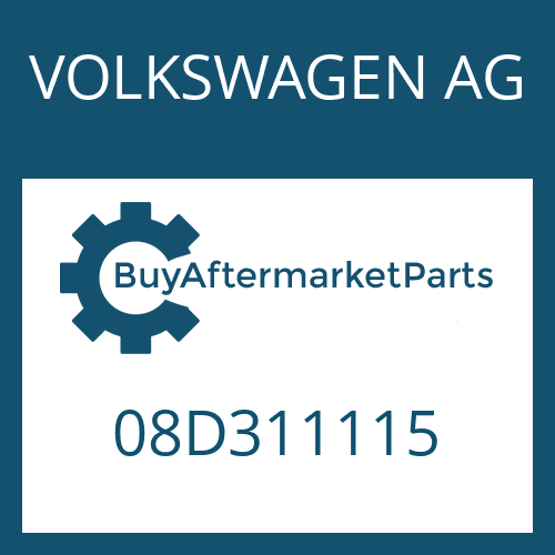 VOLKSWAGEN AG 08D311115 - NEEDLE CAGE