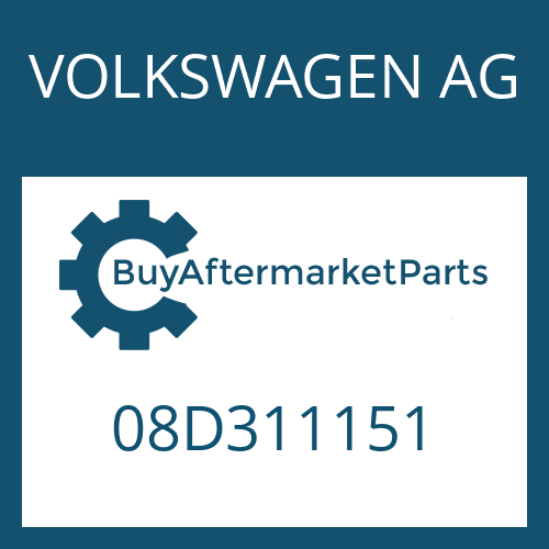 VOLKSWAGEN AG 08D311151 - NEEDLE CAGE