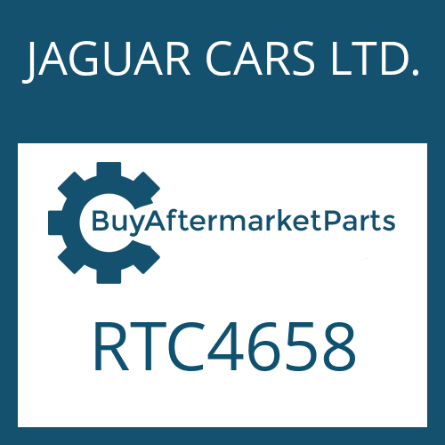 JAGUAR CARS LTD. RTC4658 - ACCELERATOR CAM