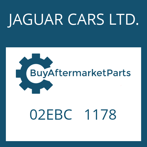 JAGUAR CARS LTD. 02EBC   1178 - EXTENSION
