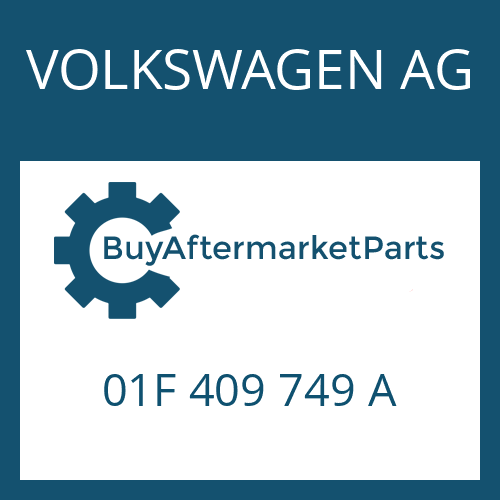 VOLKSWAGEN AG 01F 409 749 A - A 100 KD