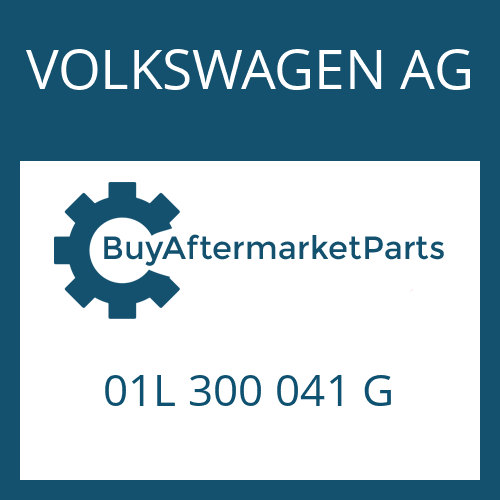 VOLKSWAGEN AG 01L 300 041 G - 5 HP 24 A