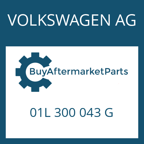 VOLKSWAGEN AG 01L 300 043 G - 5 HP 24 A