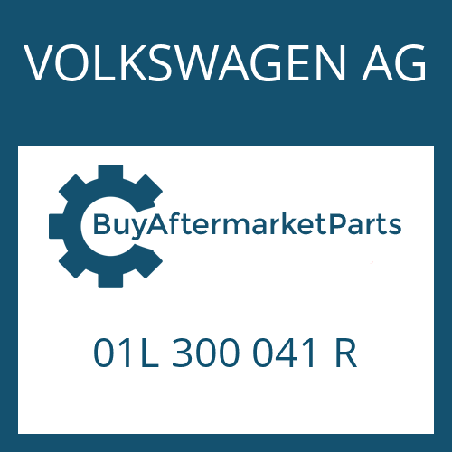 VOLKSWAGEN AG 01L 300 041 R - 5 HP 24 A