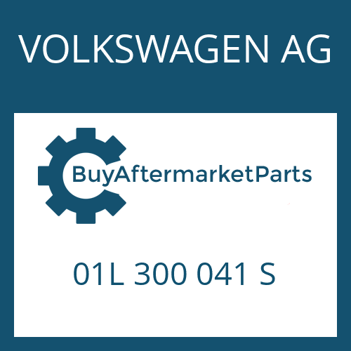 VOLKSWAGEN AG 01L 300 041 S - 5 HP 24 A