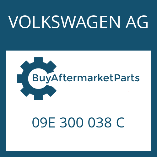 VOLKSWAGEN AG 09E 300 038 C - 6 HP 26 A 61 SW