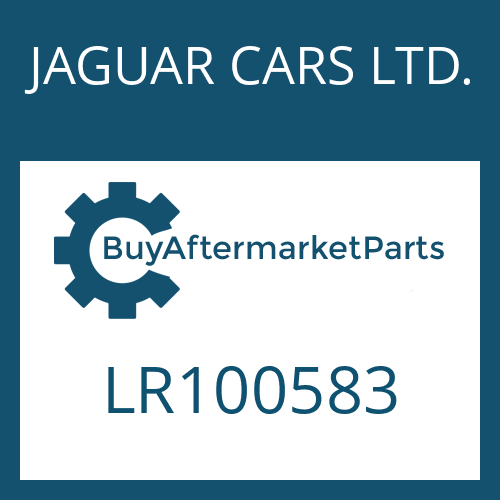 JAGUAR CARS LTD. LR100583 - 8HP70X SW