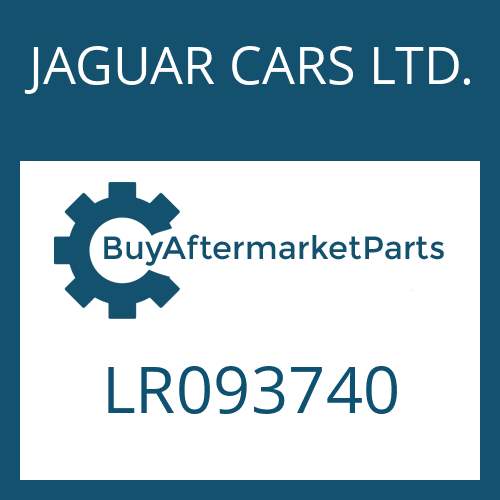 JAGUAR CARS LTD. LR093740 - 8HP70X HIS SW