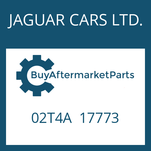 JAGUAR CARS LTD. 02T4A  17773 - 8HP70X HIS SW