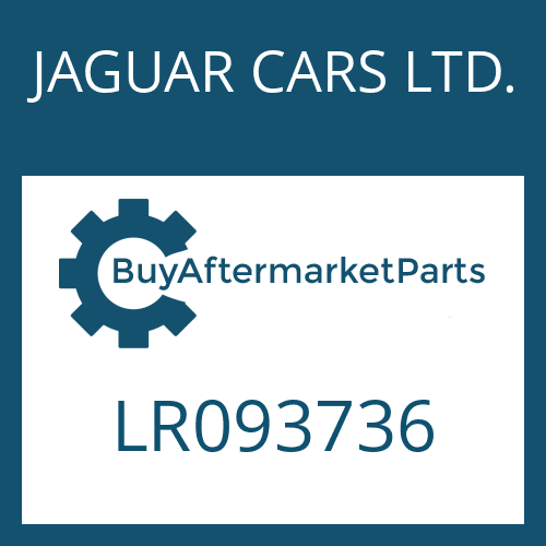 JAGUAR CARS LTD. LR093736 - 8HP45X SW