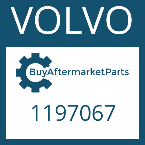 VOLVO 1197067 - HELICAL GEAR