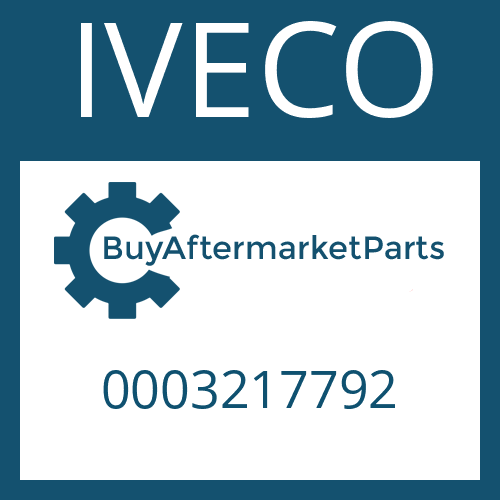 IVECO 0003217792 - HELICAL GEAR