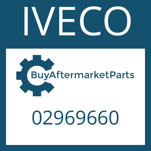 IVECO 02969660 - GEAR SHIFT COVER