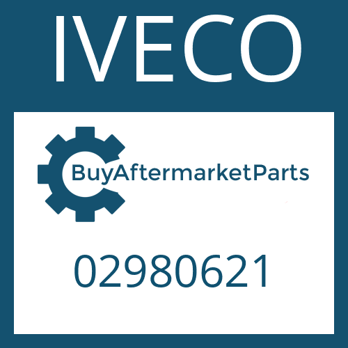 IVECO 02980621 - PLATE